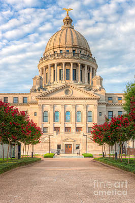 Capitol Building Photograph - Mississippi State Capitol V by Clarence Holmes