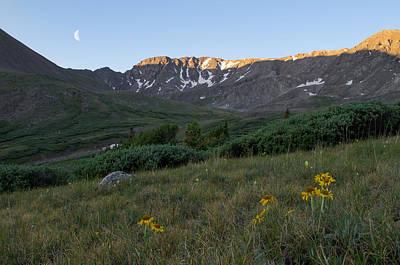 Flower Ers Photograph - Missouri Mountain Sunrise by Aaron Spong