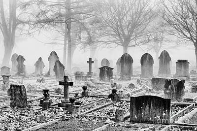 Grave Photograph - Mist And Shadow by Tim Gainey