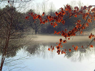 Evangeline Photograph - Mist Of The River by Karen Cook