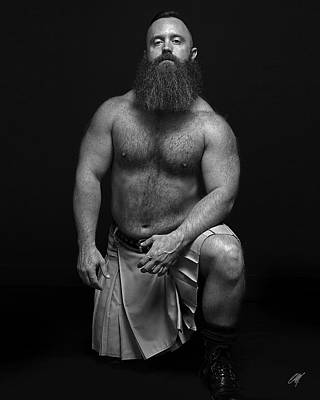 Beards Photograph - Mister R by Chris Lopez