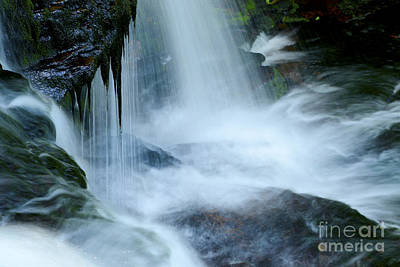 Pa State Parks Photograph - Misty Falls - 73 by Paul W Faust -  Impressions of Light
