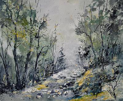 Mist Painting - Misty Forest by Pol Ledent