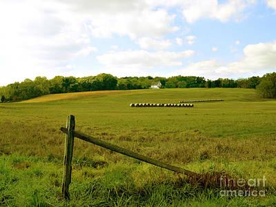 Solebury Photograph - Misty Hills Farm by Addie Hocynec