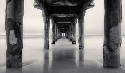 Pender Photograph - Misty Manhattan Pier by Adam Pender