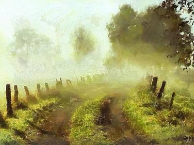 Misty Morning Print by Gun Legler