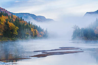 Jacques Photograph - Misty October by Mircea Costina Photography