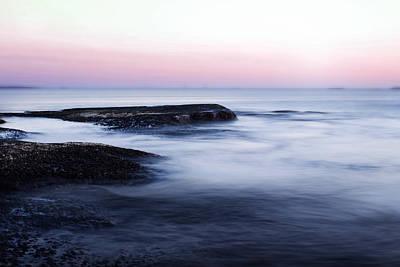 Sunset Digital Art - Misty Sea by Nicklas Gustafsson