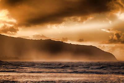 Haleiwa Photograph - Misty Seas V2 by Douglas Barnard