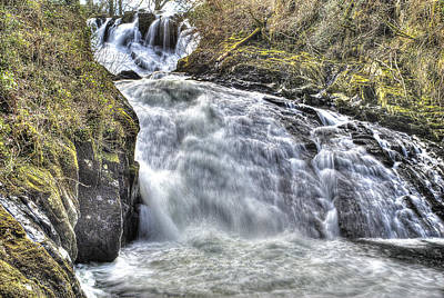 Fall Photograph - Misty Water Fall by Rob Guiver