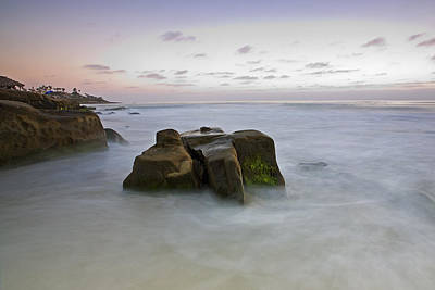 Misty Waters Print by Peter Tellone