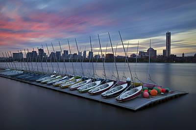 Mit Sailing Pavilion Print by Eric Gendron