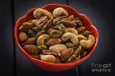 Heart Healthy Photograph - Mixed Nuts Still Life by Vishwanath Bhat
