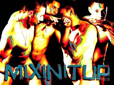 Mixin It Up Print by Robert D McBain