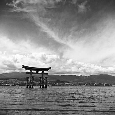 Miyajima Photograph - Miyajima Tori by Alex Snay