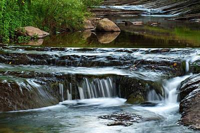 Miykovska River 1 Print by Art Mccaffrey