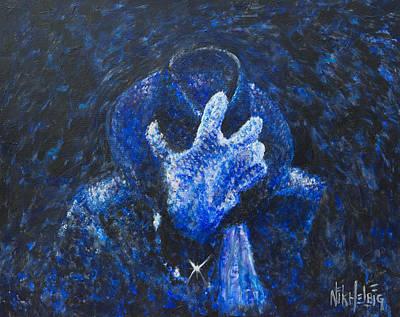Michael Jackson Painting - Mj Gone Too Soon by Nik Helbig