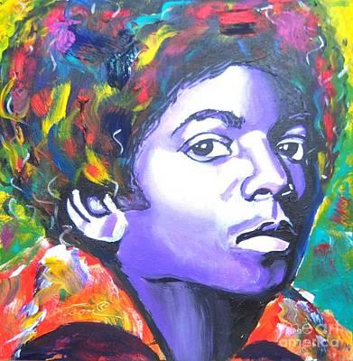 Mj Painting - MJ by Jonathan Tyson