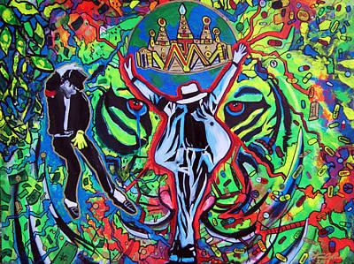 Mj Tigers Eyes Original by Ottoniel Lima