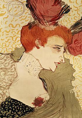 Lender Painting - Mlle Marcelle Lender by Henri de Toulouse-Lautrec