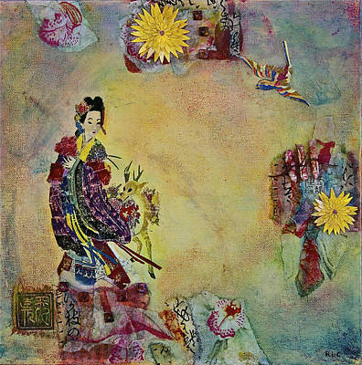 Mo Ku Hsien Taoist Fairy Print by Bellesouth Studio