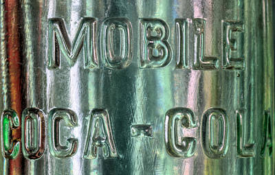Pop Can Photograph - Mobile Coca Cola by JC Findley