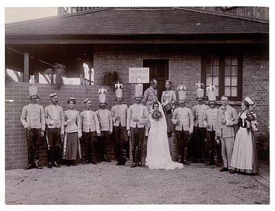 Mock Wedding Print by British Library