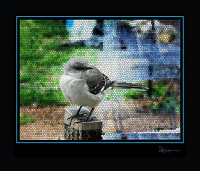 Mockingbird Digital Art - Mocking Bird by EricaMaxine  Price