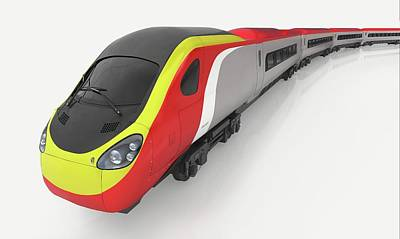 High Speed Photograph - Model Of High-speed Train by Dorling Kindersley/uig