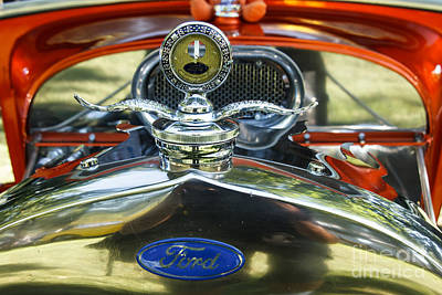 Model T Ford Print by Robert Bales