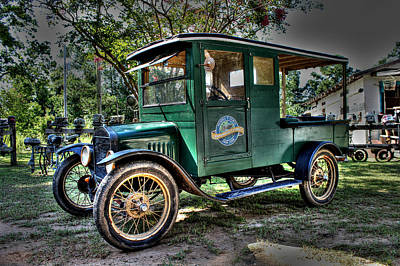 Model T Truck In Bon Secour Al Print by Lynn Jordan