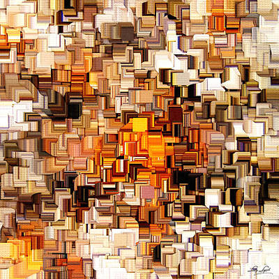 Modern Abstract Xxvi Print by Lourry Legarde