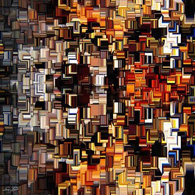 Modern Abstract Xxvii Print by Lourry Legarde
