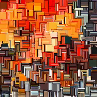 Modern Abstract Xxxiv Print by Lourry Legarde