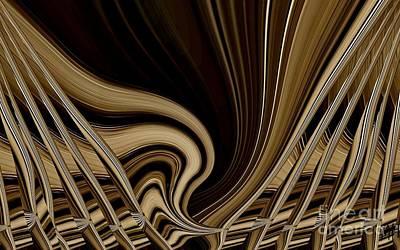 Modern Basket Weaving Print by Marsha Heiken