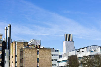 Rooftop Photograph - Modern Buildings by Tom Gowanlock