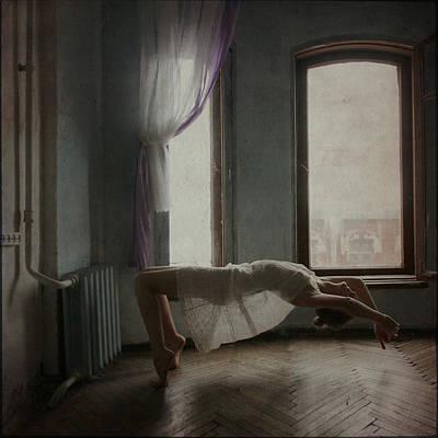 Floating Girl Photograph - Modern Margarita 2  by Anka Zhuravleva