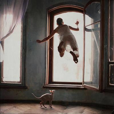 Floating Girl Photograph - Modern Margarita by Anka Zhuravleva