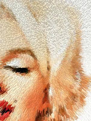 Modern Marilyn - Marilyn Monroe Art By Sharon Cummings Print by Sharon Cummings