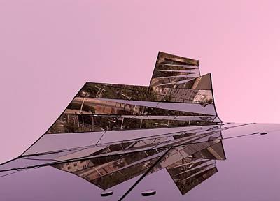 Abstrakt Photograph - Modern Reflections ... by Juergen Weiss