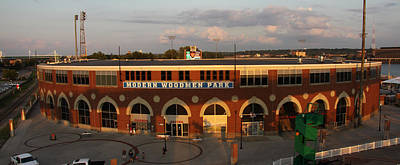 Modern Woodmen Stadium Print by Heidi Brandt