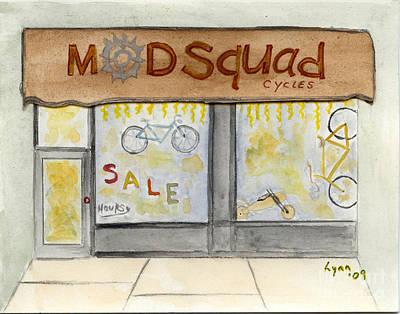 Modsquad Harlem Print by AFineLyne