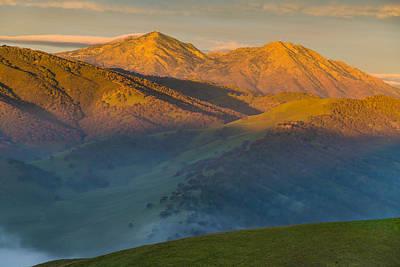 Morning Light On Mt Diablo Photograph By Marc Crumpler