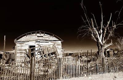 Mojave House Print by John Rizzuto