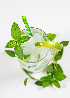 Food And Beverage Photograph - Mojito by Tod and Cynthia Grubbs