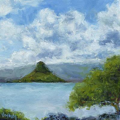 Haleiwa Painting - Mokolii Island by Stacy Vosberg