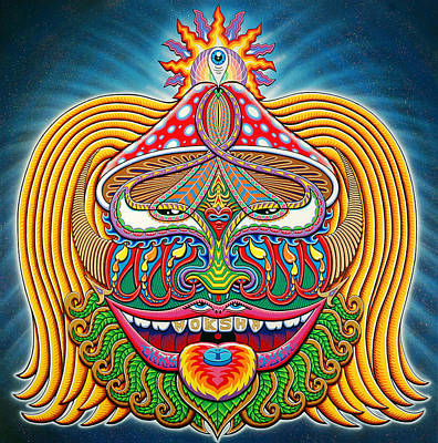 Moksha Master Print by Chris Dyer