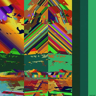 Kauai Digital Art - Moku Moku 14 by Kenneth Grzesik