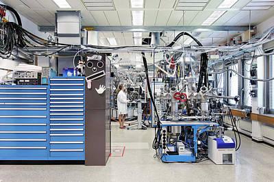 Molecular Beam Epitaxy Print by Ibm Research