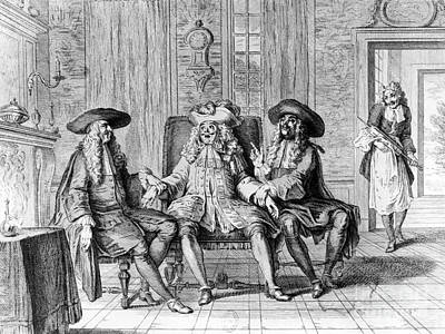 Moliere: Play, 1670 Print by Granger